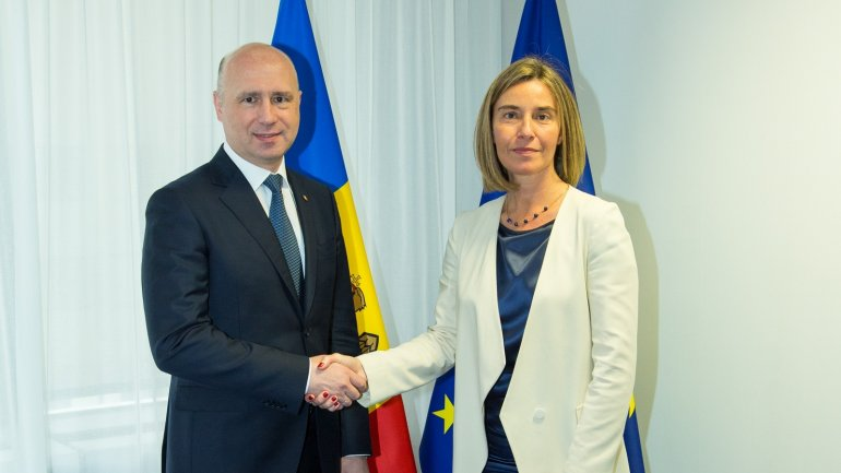 Moldovan PM, Head of European diplomacy discuss on progress within Association Council (PHOTO/VIDEO)