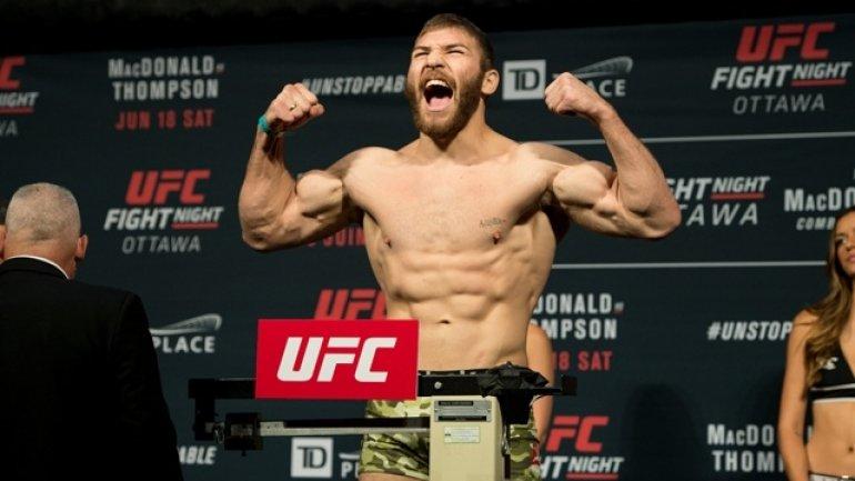 Moldovan fighter Ion Cutelaba began preparations for Ultimate Fighting Championship