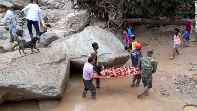 Colombia mudslides kill more than 200 (PHOTO)