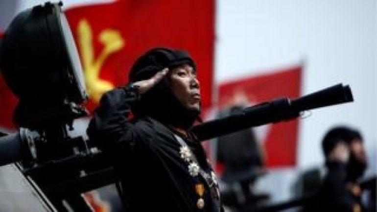 N Korea missile launch fails day after military parade