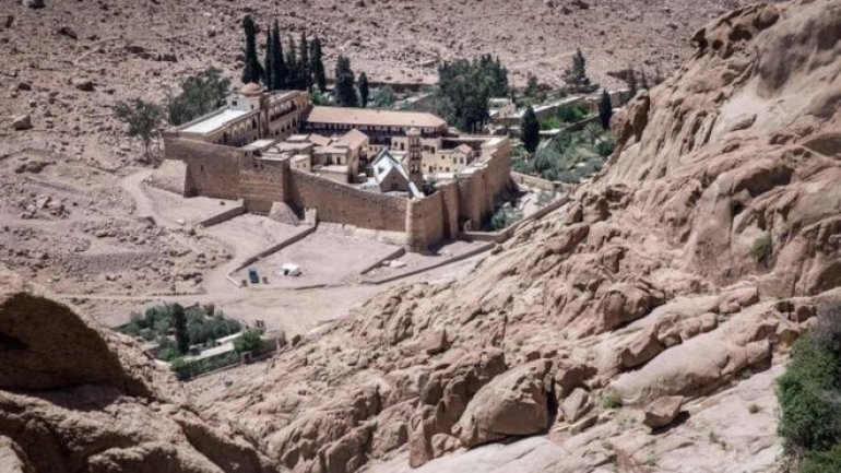 Deadly attack near Egypt's old monastery