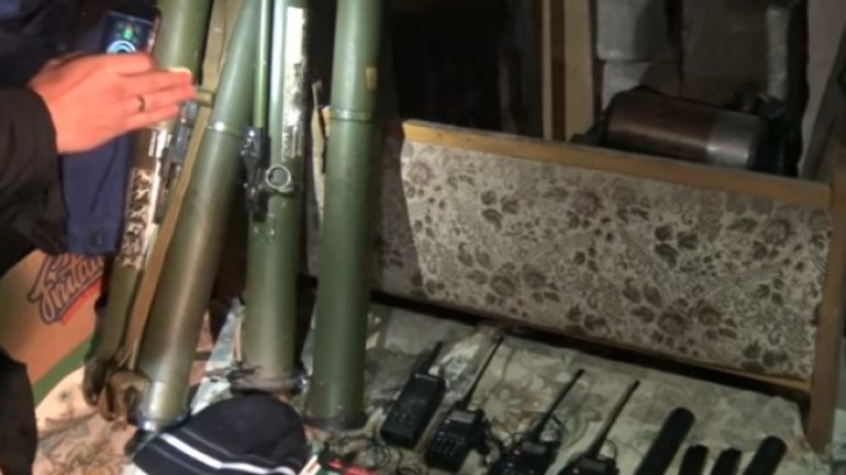 Weapons to have been used to blast building in which Vlad Plahotniuc was