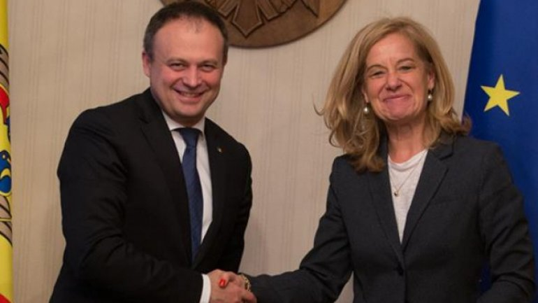 Moldovan Parliament Chief discussed bank theft with Dutch Ambassador
