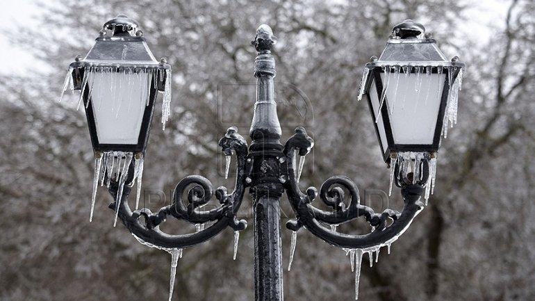 Minus 6 degrees Celsius WINTER RETURNS