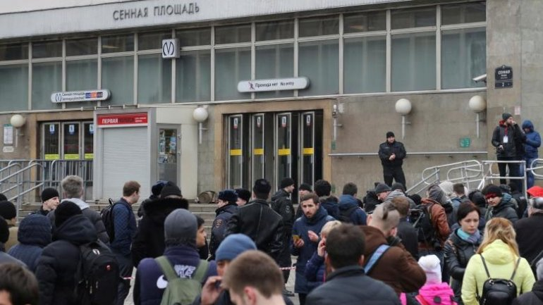 St. Petersburg SHUTS metro station after anonymous bomb warning