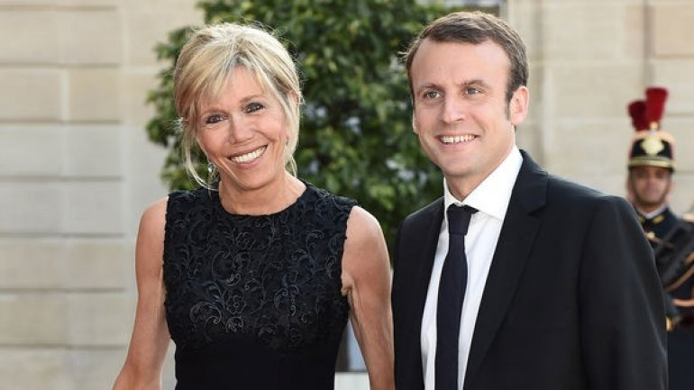 The 64-year-old wife of Emmanuel Macron getting used to staying in spotlight