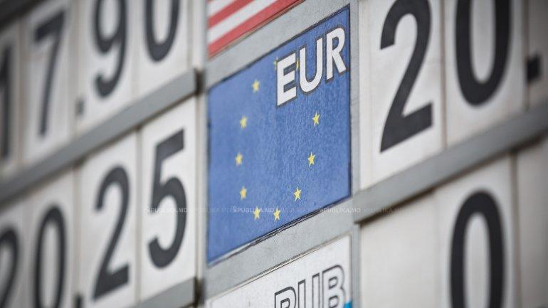 Moldovan leu appreciates continually with unique european currency