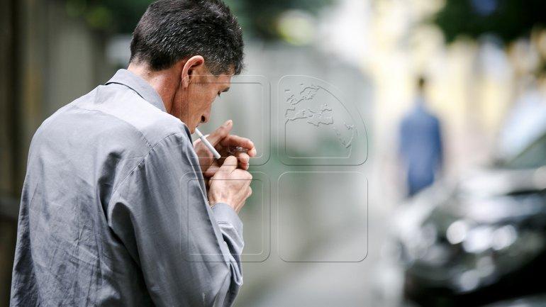 Study: The vice of smoking, PREDOMINANT among Moldovans
