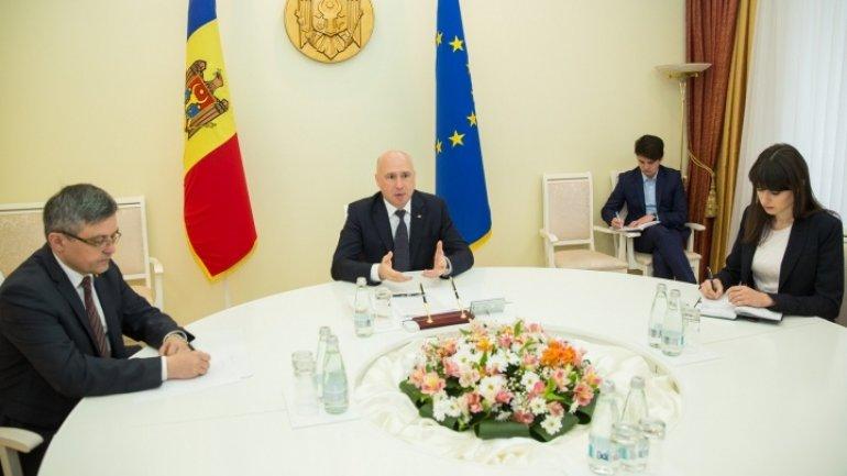 Moldova's Prime Minister meets with Italian Ambassador