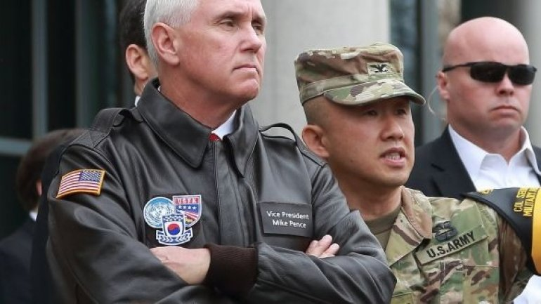 Pence: US era of strategic patience with North Korea over