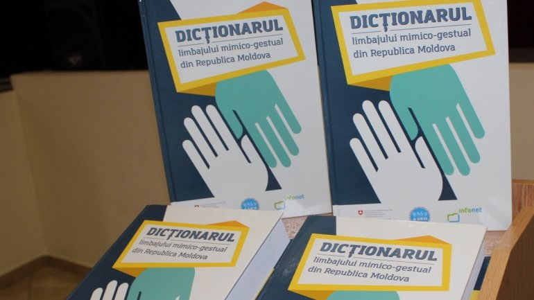FIRST in Moldova. Sign language dictionary LAUNCHED