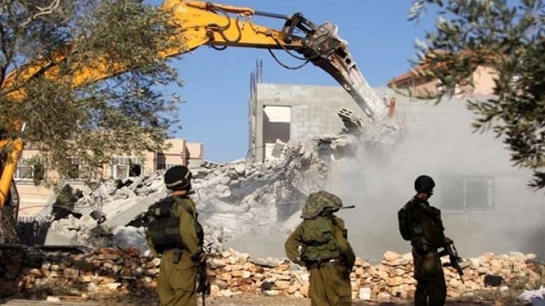 EU, angry at Israel destroying Palestinian houses in West Bank