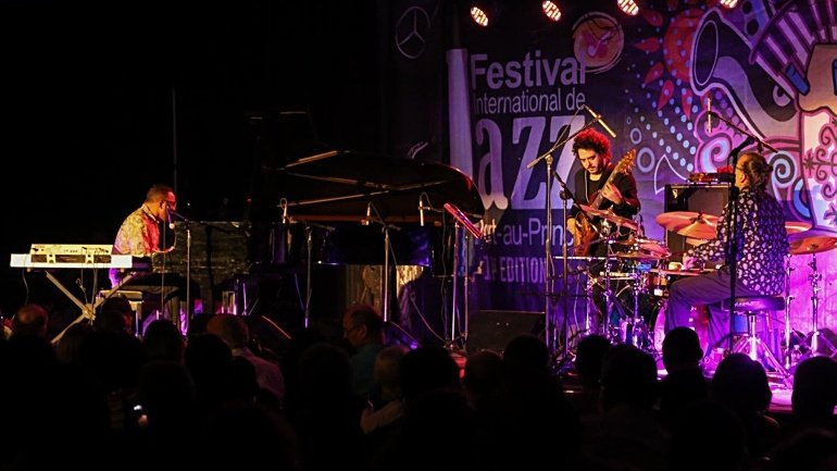 International Jazz Festival in Chişinău, euphoric event. The spectators, astonished by show