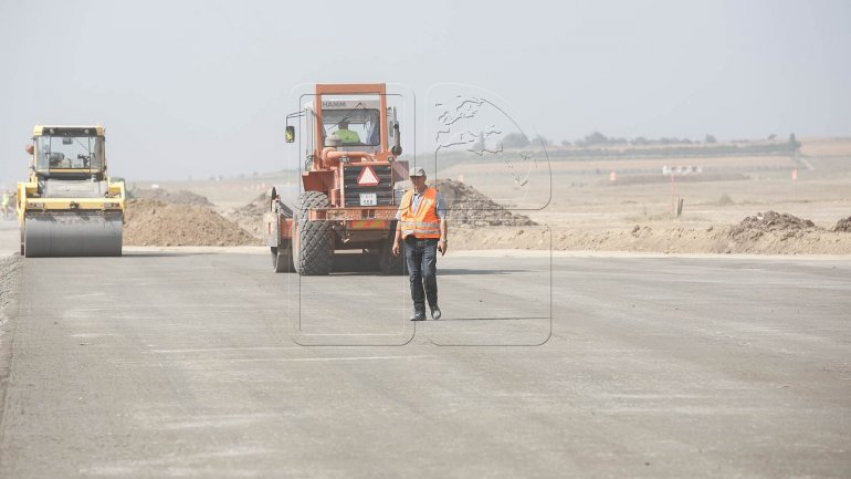 Construction of Chisinau Airport runway in full swing