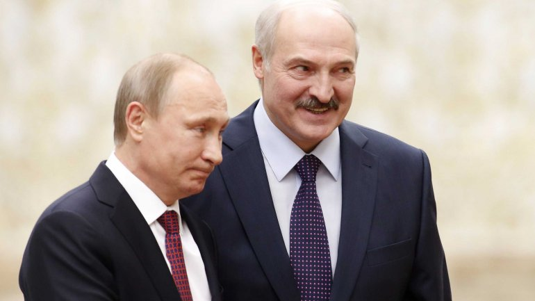 Presidents of Russia, Belarus allay energy-related tensions
