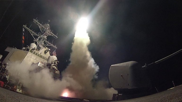 Syria war: Russia condemns US missile strike on chemical weapons base