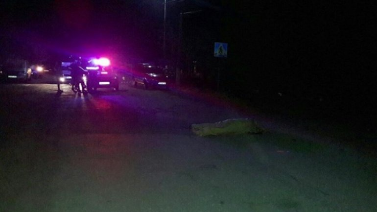 A young aged 23 from village Cuconeştii Noi died after being hit by car SERIOUS ACCIDENT
