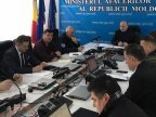 Prime Minister lauds rescuers who cleaned up Chisinau from branches