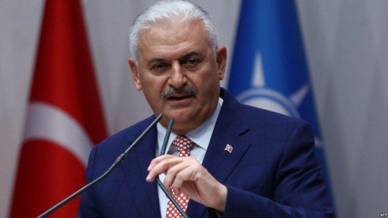 Turkish Premier, on trip to Moldova