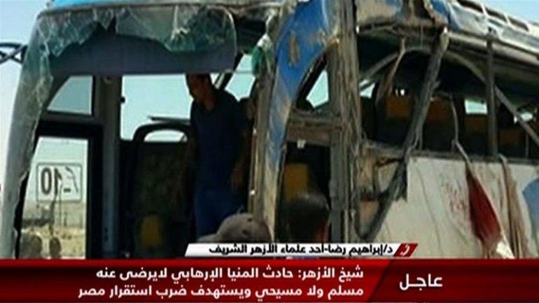 Two dozens Christians, killed in Egypt by masked gunmen