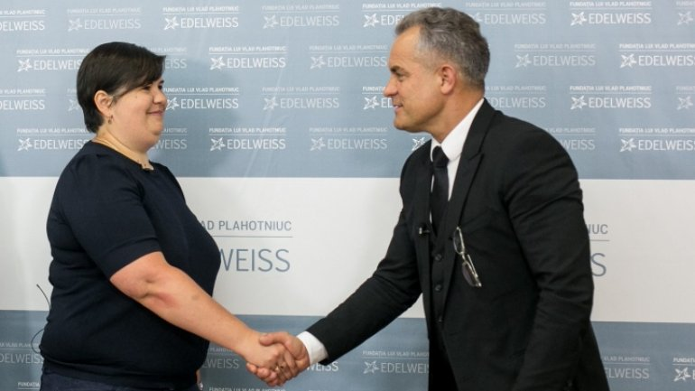 Vlad Plahotniuc and Victoria Dunford broach joint projects for disabled