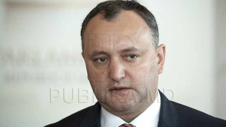 Igor Dodon: Renato Usatîi is a bandit and a clown. Clowns have no place in politics