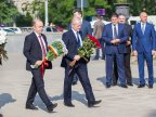 Pavel Filip and Andrian Candu commemorate victims of deportations of 1941 (PHOTO)