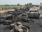 Pakistan oil tanker inferno kills at least 140