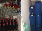 Police hold up makers of fake vodka sold on Moldovan bazaars
