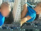 Algerian dangling child at 15th storey for Facebook likes goes to jail
