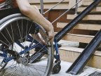 575 disabled with locomotion problems to get wheelchairs