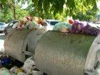 Chisinau getting flooded by garbage