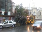 Rainy storm causes havoc in Moldova's capital