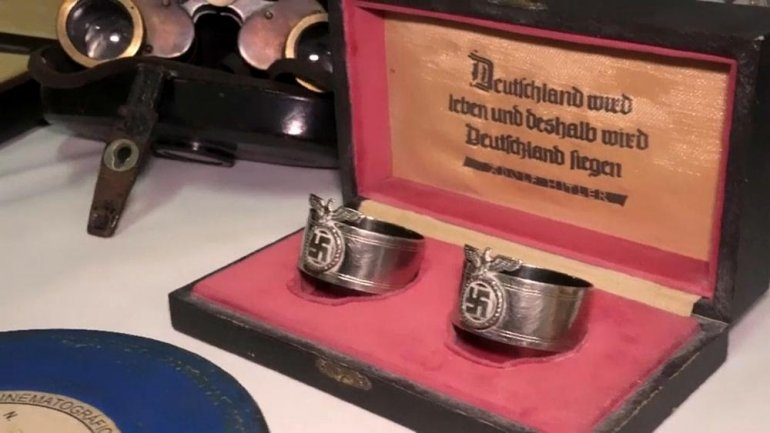 Nazi relics hidden behind sliding bookcase in Argentina (VIDEO)