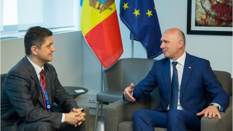 Pavel Filip meets with Romanian delegation to PACE