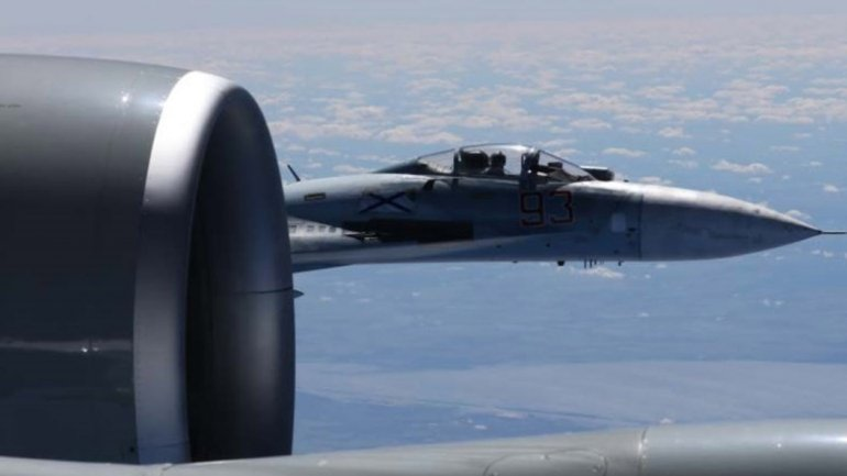 US releases photos of 'unsafe' Russian jet intercept