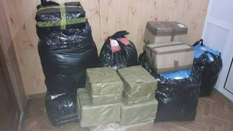 Woman detained for smuggling clothes worth of 25,000 MDL