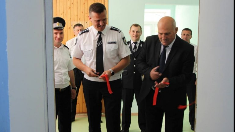 Alexandru Pinzari pays working visit to the Leova Police Inspectorate