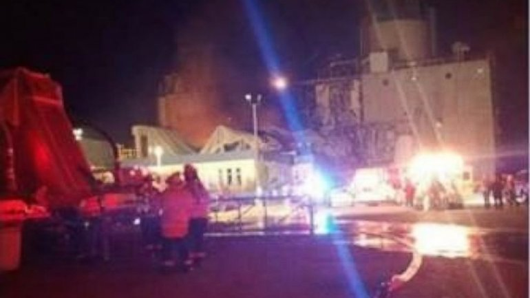 Injuries reported in milling plant explosion in Wisconsin (VIDEO)