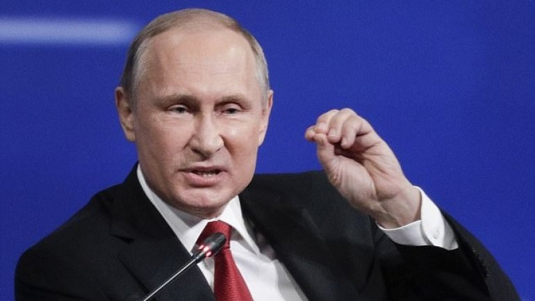 "Russian president Vladimir Putin: ""I'm not a woman, so I don't have bad days"""