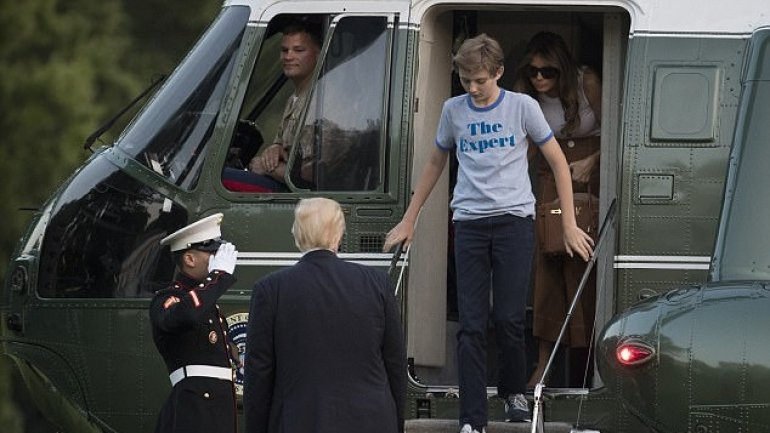 "University professor BLASTED for saying 11-year-old Barron Trump's shirt ""made him look like a jerk"""