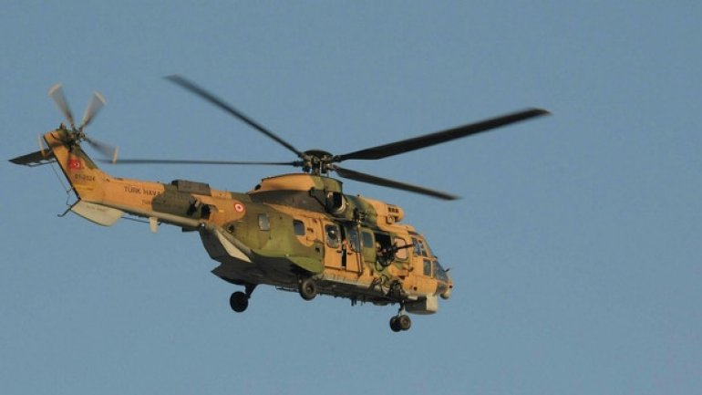 Turkish military helicopter crash KILLS 13 soldiers (VIDEO)