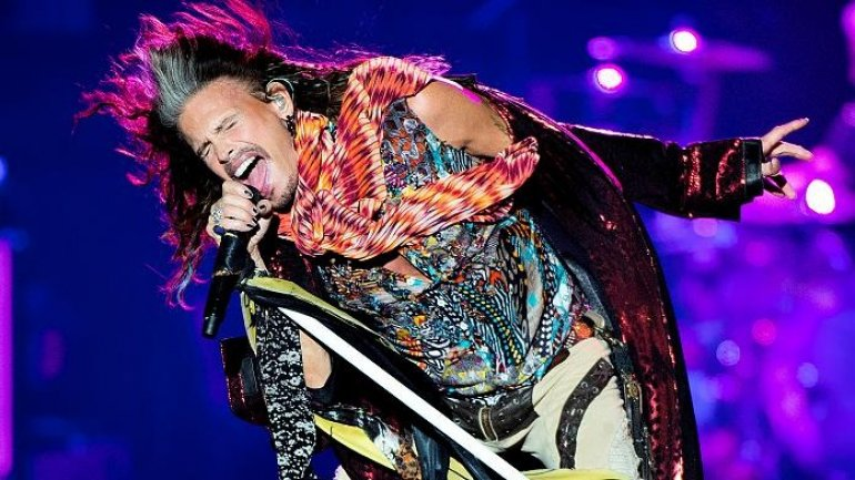 Aerosmith promise fans safe gigs and say terror won't stop them rocking (VIDEO)