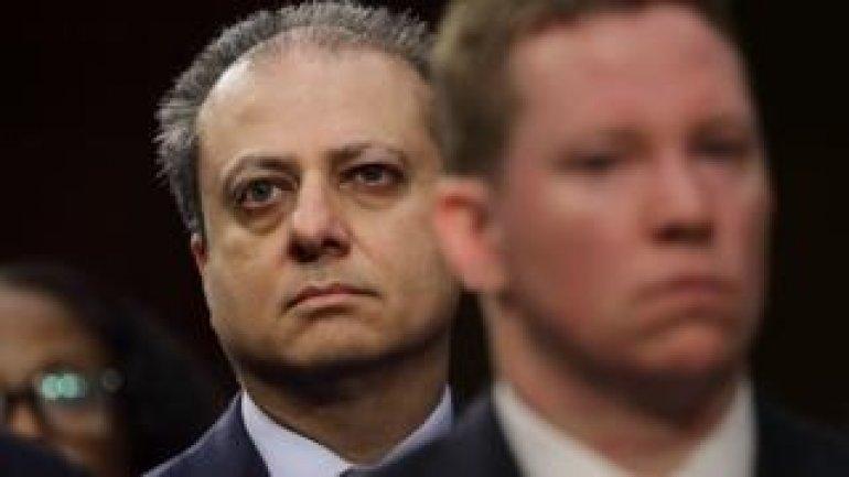 Senior US prosecutor Bharara fired 'after refusing Trump call'