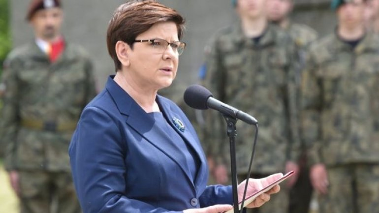 Polish PM Szydlo criticised for Auschwitz speech