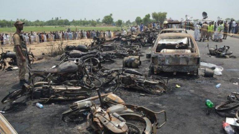 Pakistan oil tanker inferno kills at least 140
