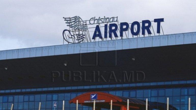BOMB threat at Chisinau International Airport. Turkish man THREATENING to blow up explosive (VIDEO)