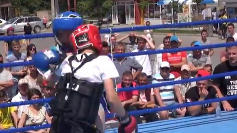 Martial arts tournament held in Comrat