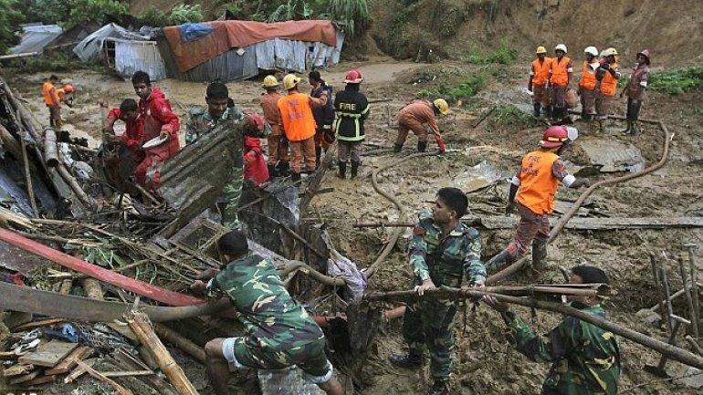 43 Bangladeshi die in wake of landslides