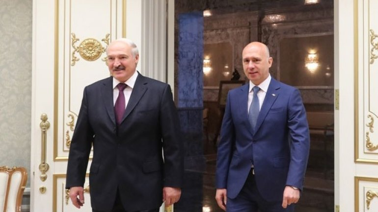 Moldova as Belarus' top economic partner. Pavel Filip met with Alexander Lukashenko